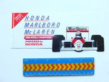 "McLAREN MP4/4 Honda. 1988  Unused 4x8""  decal/sticker"
